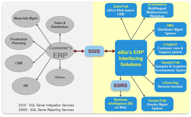 ERP Interfacing Solutions